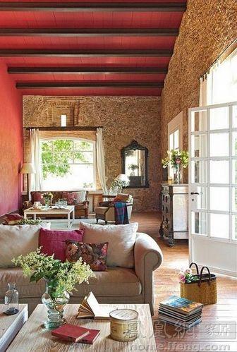 55款田园风格客厅独具韵味 要的就是这份闲适的美好