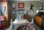 新奇活泼男孩房设计 给自家小儿打造童趣居室