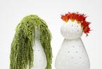 装点空间怎能少了花花草草 看创意花瓶如何费力卖萌