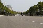 2013年9月26日,山东乳山,空旷的马路上人烟稀少。 (实习编辑:容少晖)