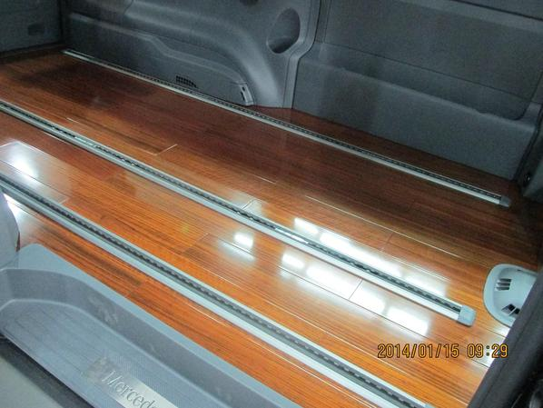 木地板随车而动 创新汽车木地板更显独特品味