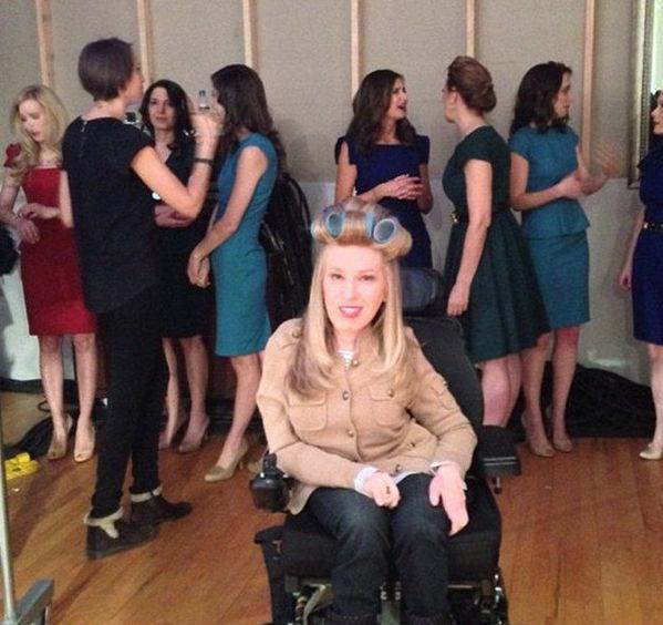 """时尚 伦敦/残疾模特坐轮椅走秀时尚圈盛行""""残缺美"""""""