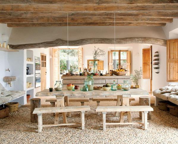 超自然生态的艺术家石穴住宅 鹅卵石地板你敢走吗?
