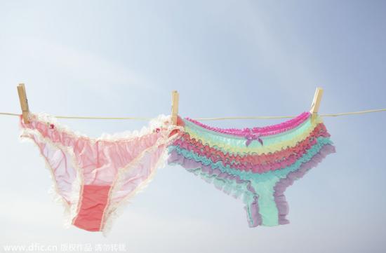 揭秘:女人的内裤到底有多脏?