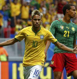 A组-巴西4-1喀麦隆