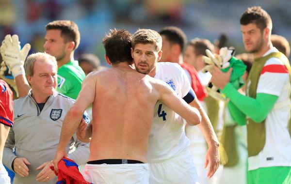 2014年6月24日,巴西米内罗竞技场,2014巴西世界杯小组赛D组,英格兰0-0哥斯达黎加。此战是杰拉德和兰帕德世界杯的落幕演出,全场比赛英格兰攻势占优,但得势不得分,斯图里奇多次错过机会,两队最终0-0战平。哥斯达黎加3战积7分,创下本队世界杯小组赛最佳成绩,以小组头名晋级。而英格兰则仅积1分小组垫底。