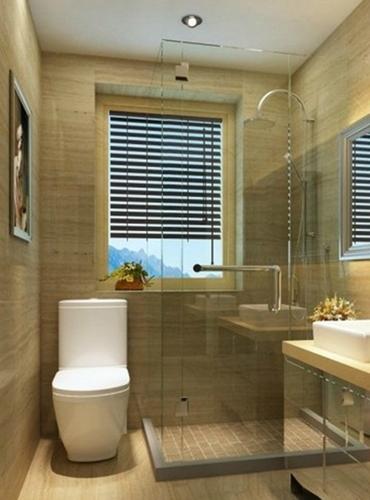 超简约浴室设计 小空间的大气装修术