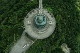 7月9日,香港天坛大佛。(实习编辑:温存)