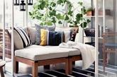 起居室,作为宜家一如既往维持风格的展示空间,维持了瑞典设计温馨舒适的特点,同时也富于多种功能。(实习编辑:辛莉惠)