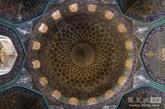 在伊斯法罕酋长lotfollah清真寺,伊斯法罕,伊朗 (实习编辑:温存)