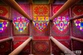柱子、地毯和灯光的完美结合(实习编辑:温存)