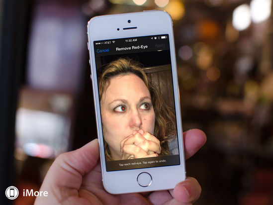 iPhone拍照小窍门:一键修复红眼照片