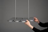 我们需要不同的灯具,来满足室内不同位置对光线的不同需求,比如方桌,长桌,吧台,角落等等。除了地理位置,生活状态的不同:一个人工作,两个人晚餐,朋友的聚会,在同一个空间下我们对光的需求也会有所不同。P-Lamp正是基于光的区域变化而设计的模块化灯具。根据模块的排列组合,可以构成不同的光线区域,来满足不同的室内灯光需求。(实习编辑:温存)