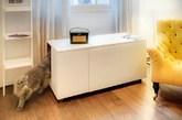 一体成型的猫厕所(实习编辑:石君兰)