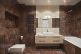 喜欢木质的温润感,又怕家居整体太过单调吗?在极简风格中运用大量木质元素,透过不同木材纹理特性,打造多元层次的生活空间,墙面粉刷上大片的中性白色,在采光明亮的客厅、厨房、书房更显木质的纹理。地板使用简约的地板,达到协调家居整体风格的作用。(实习编辑:石君兰)
