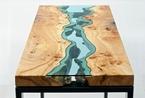 流淌在桌面的 不是河流是创意