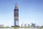 """""""华中第一高楼""""刷新纪录突破300米 五天就搭起一层楼"""