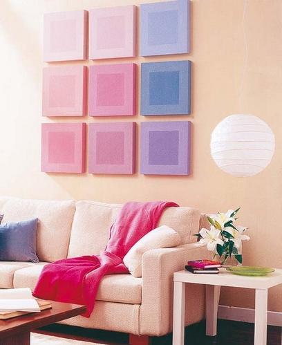 巧用模块组合装饰墙面的20个创意