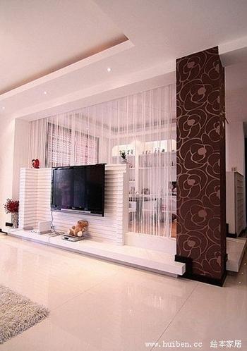 10款个性电视背景墙 让家瞬间亮起来