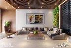 亲近自然 精致木质家居和室内垂直花园
