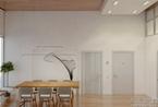 设计师安东·梅德韦杰夫:高层公寓极简室内设计