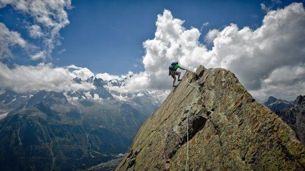 无限风光在险峰 极限登山影像记录
