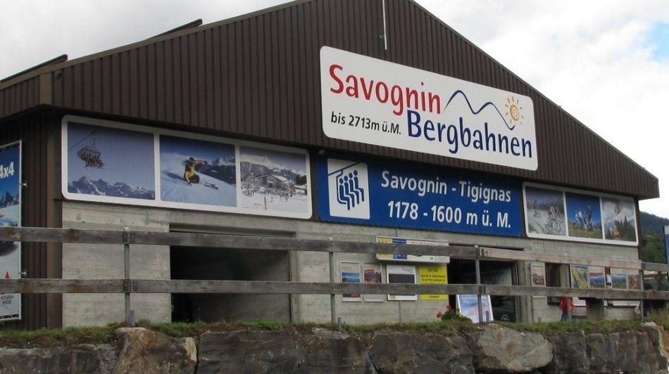 实拍瑞士萨沃宁惊险缆车游