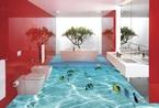 壕们都把浴室升级成3D版啦!深海恐惧症朋友怎么办