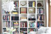 21世纪是电子书籍和笔记本电脑的时代,但家里仍会有很多纸质书,我们可以按风格加以展示。(实习编辑:刘宁馨)