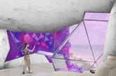 2015年最震撼的设计酒店新鲜出炉,由荷兰NL建筑事务设计的海南紫晶酒店方案夺得,相信看了提案后,你也会觉得这话一点都不错。整个建筑设计方案采用圆筒式的酒店建筑结构,整个酒店被设计成一个非常独特的紫色宝石,酷毙的外观赋予了建筑另类的意义。假想这样一个酒店坐落在海平面上,是何等的壮观。(实习编辑:周芝)