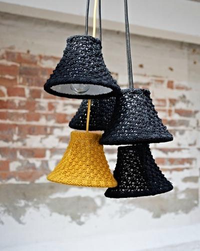 """现代编织与传统针织相结合 家居产品穿上""""毛衣""""啦"""