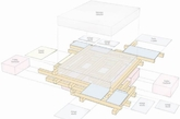 建筑工作室heri&salli受邀请在维也纳一栋公寓楼里面创造一个预算极低,只有一件大家具的客房。这间客房以床为中心,床放在正中央,周围所有的空间围绕床,同时将床多功能化,可以同时作为餐桌、办公桌、储物柜等。房间的天花、地板、墙面都直接暴露,没有做任何装饰,让房屋的历史得到体现。(实习编辑:陈尚琪)