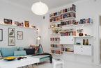 你很小可是很迷人!瑞典57平公寓高效空间布局
