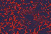 这次家具展Hermès带来一组纺织墙纸,以热带雨林中居住的鸟类为灵感,由插画师Robert Dallet创作。棉和真丝提花雕饰这个老时装屋丛林生活的意味。