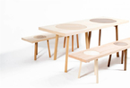 """可以拆分的长桌子和长板凳  大家一起来当""""拆迁工人"""""""