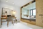 巧妙的收纳和空间利用:14岁女孩卧室设计