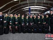 大陆首批24名台湾籍空乘亮相 系百里挑一