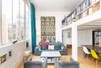 巴黎混搭风公寓 挑高空间成就宽阔视野