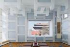 他设计了长城脚下的竹屋    又在故宫边造了一个茶馆