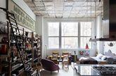 02 Vintage与工业风 巴西古董家具店老板的Chelsea loft
