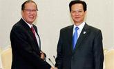 越南总理见阿基诺 联手抗华或落空