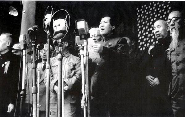 1949年10月1日开国大典.-揭秘 哪位红军烈士是毛泽东心中的 关云长