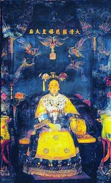 首位为慈禧绘画的西方艺术家:在宫中住了9个月(图)