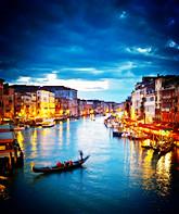 意大利威尼斯浪漫的璀璨的明珠