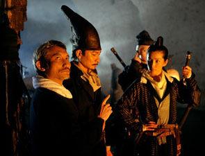 2008年,徐克在《通天帝国》片场