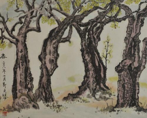 红枣树怎么画简笔画