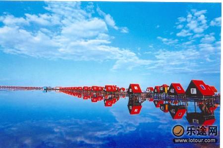 去海边踏春:唐山湾国际旅游岛(组图)