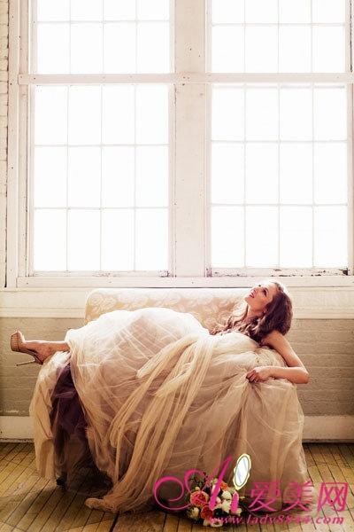 梦幻欧式婚纱 走进如画般浪漫婚礼