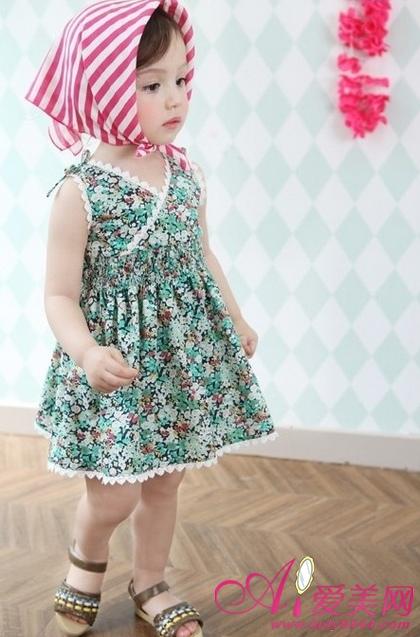 时尚衫裙 甜美小公主的花花装扮