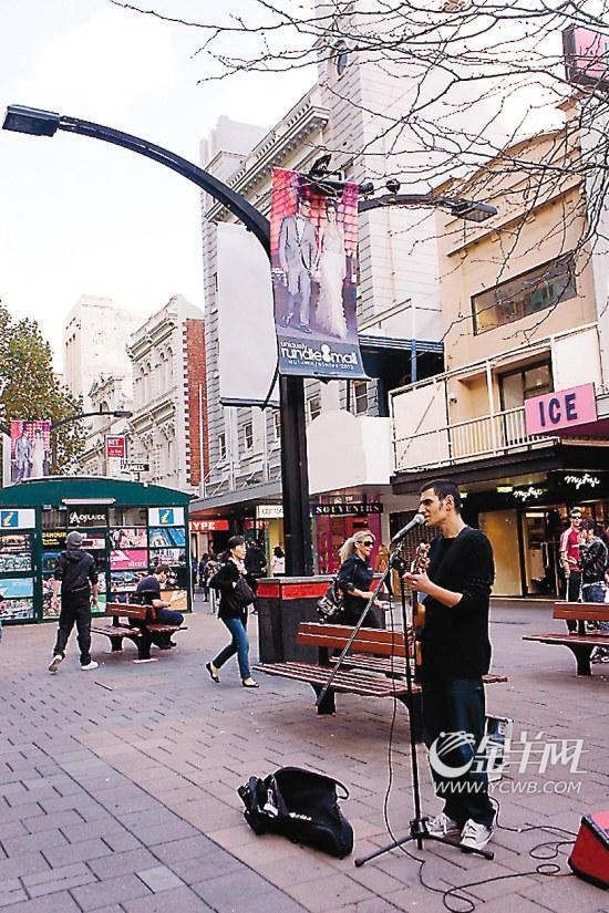 ■蓝道步行街